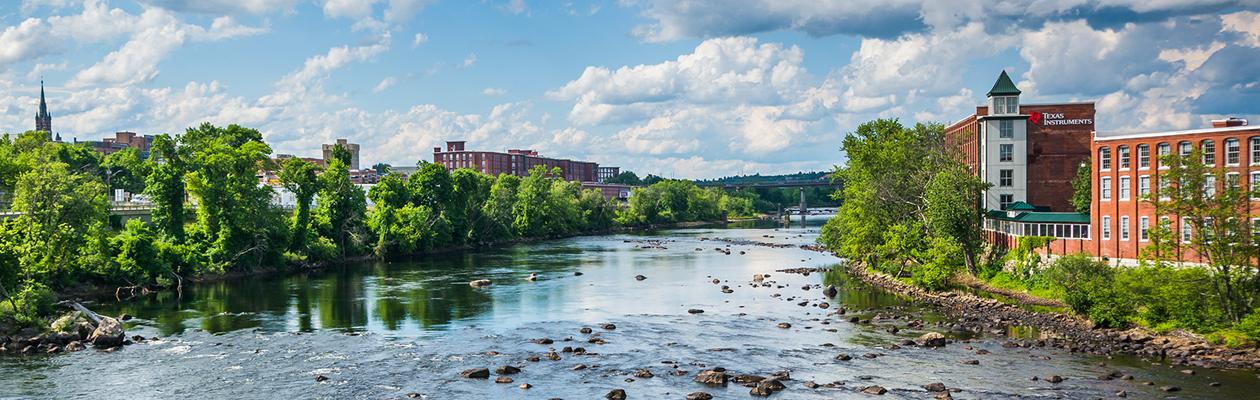 Merrimac River, New Hampshire